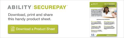 ABILITY   SECUREPAY Product Sheet