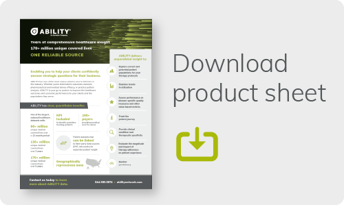 Download Product Sheet button