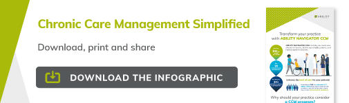 Download infographic: Chronic Care Management Simplified